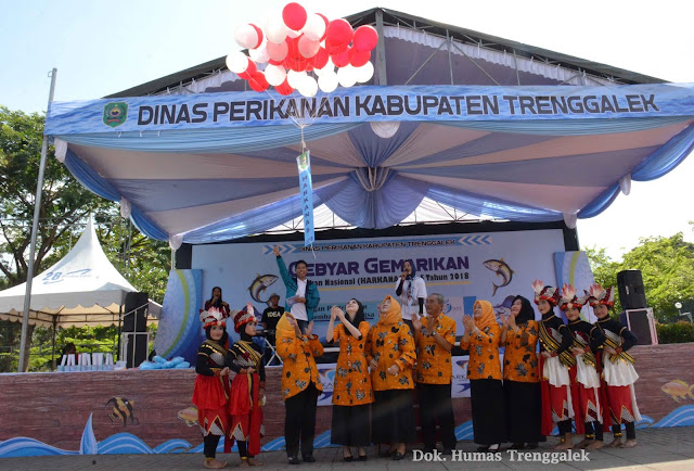 Arumi Bachsin Kampanyekan Gemar Makan Ikan Dalam Peringatan Harkanas ke-5