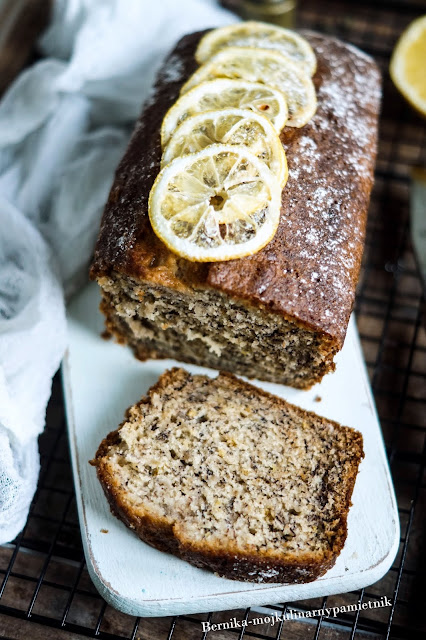 chleb, banana bread, banany, bananowy, ciasto, deser, sniadanie