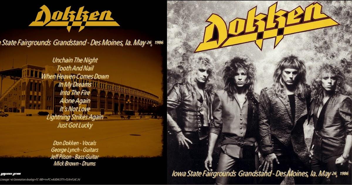 T U B E Dokken 1986 05 26 Des Moines Ia Aud Flac