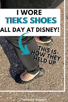 Tieks review after wearing all day.