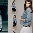 Front Row Shop Blue Denim Jacket
