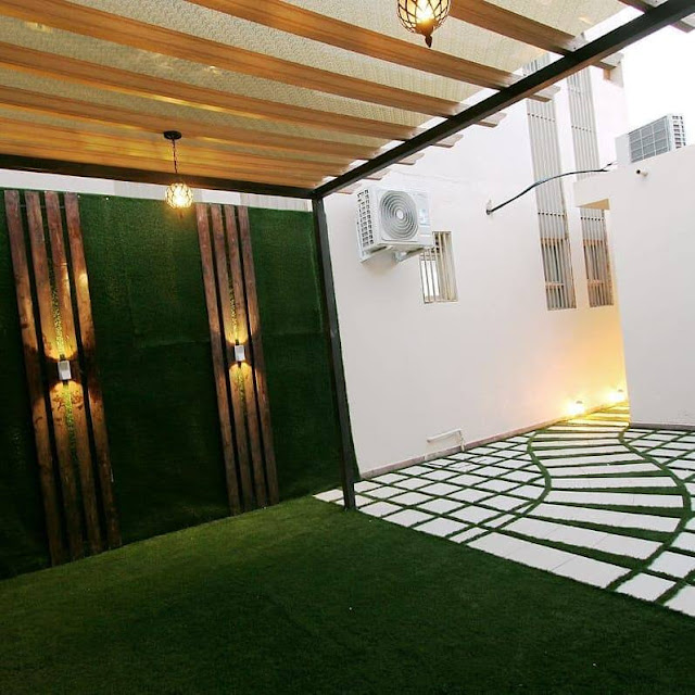 تصميم حدائق منزلية تنسيق حدائق حائل