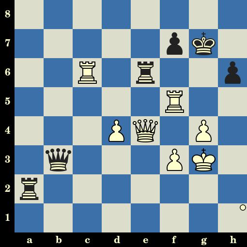 Quiz du jour sur les échecs : les Blancs jouent et matent en 10 coups