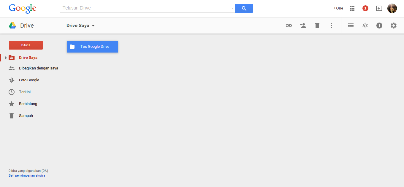 Cara Upload File di Internet Menggunakan Google Drive