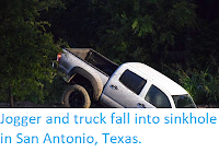 http://sciencythoughts.blogspot.com/2017/09/jogger-and-truck-fall-into-sinkhole-in.html