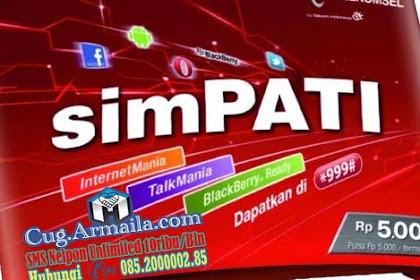 Paket SMS Simpati Perbulan