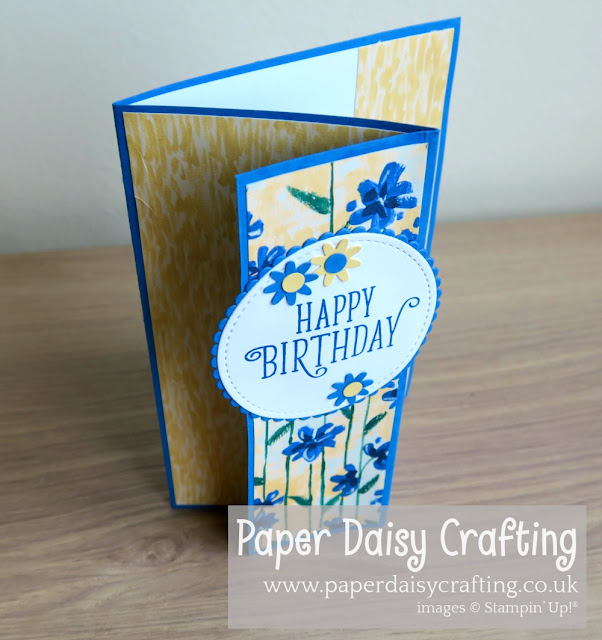 Garden Impressions Springtime Paper Daisy Crafting Stampin Up
