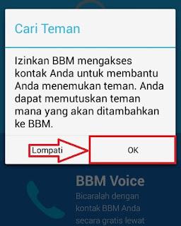 Sinkronisasi Akun BBM di Android