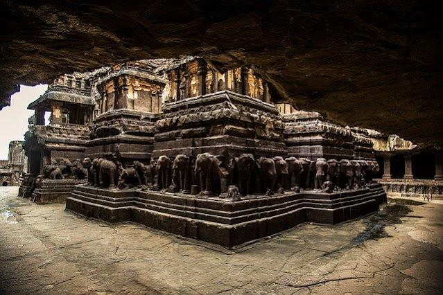 एलोरा का रहस्यमय मंदिर- कैलासा मंदिर
