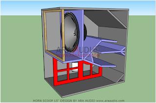 Skema Box Horn Scoop 15 inch