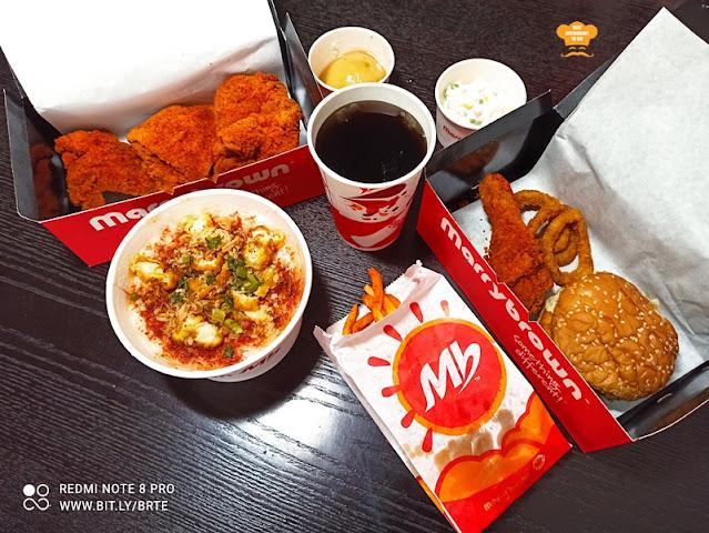 Marrybrown MB Mala Fried Chicken Combo Set Menu