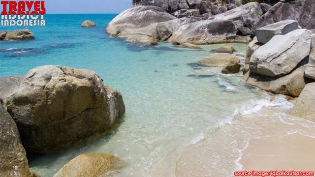 The beauty of Bangka Matras Beach