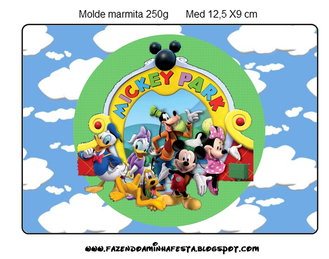 Mickey Clubhouse: Free Printable Candy Buffet Labels. - Oh ...