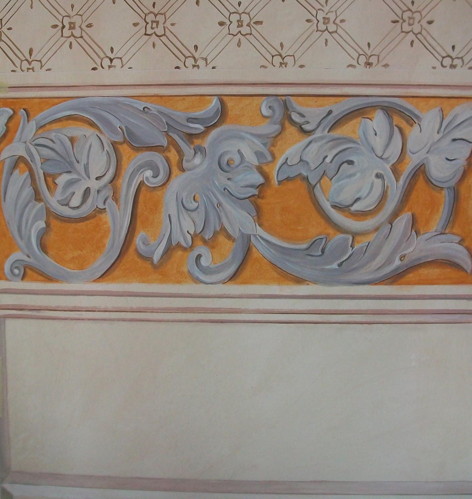 Trompe l 39 oeil murales decorazione pareti camerette for Decorazioni in polistirolo per interni