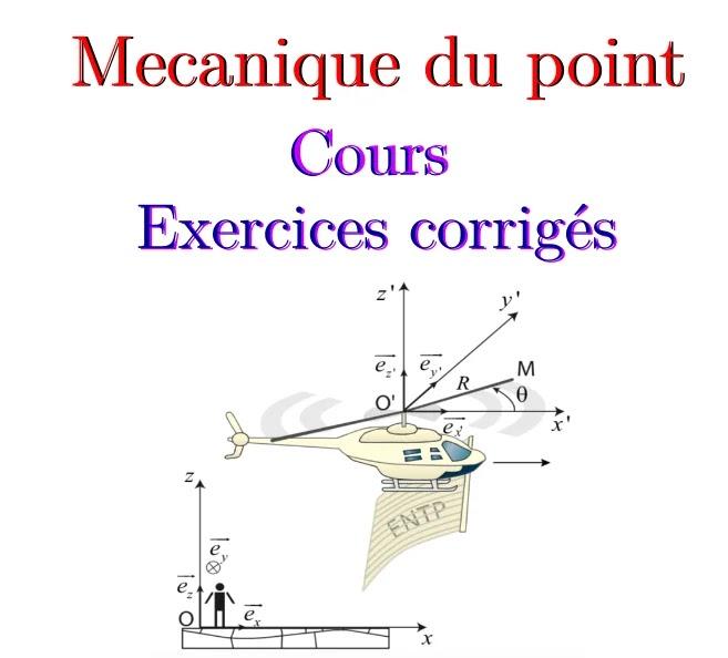 Exercice corrigé cinématique du point matériel pdf