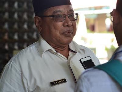 Kepala Dinas Pendidikan dan Kebudayaan Kabupaten Lombok Barat H Nasrun, S.Pd, MM.