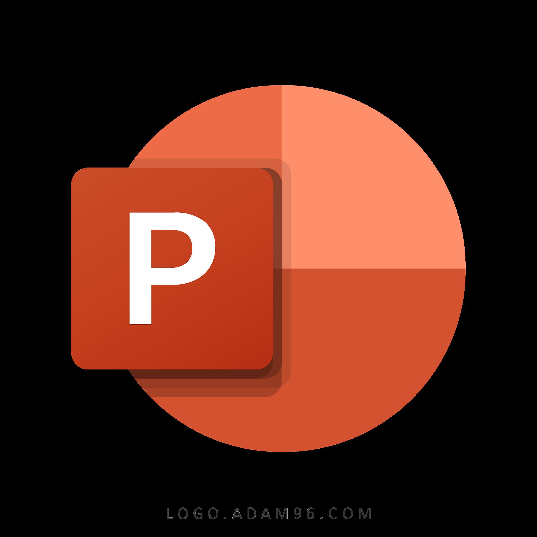 تحميل شعار مايكروسوفت باوربوينت لوجو رسمي عالي الدقة شفاف Logo Microsoft PowerPoint PNG