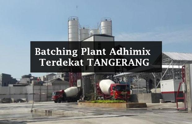Adhimix Beton Tangerang Terdekat