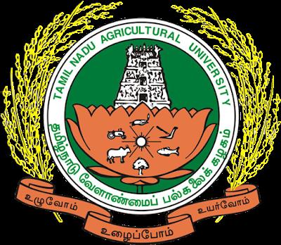 Tamil Nadu Agricultural University Admissions 2020