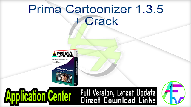 Prima Cartoonizer 1.3.5 + Crack
