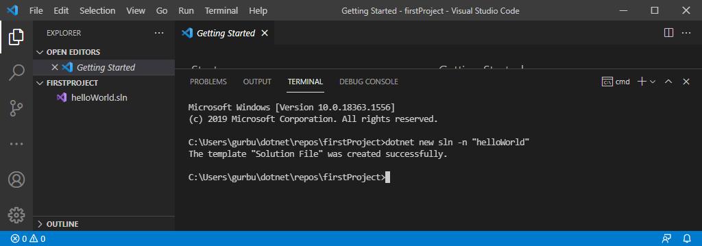 VS Code C# Geliştirme