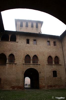 Cortile interno della Rocca Sanvitale