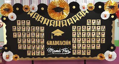 Murales de Graduación para la Pizarra o Pizarrón