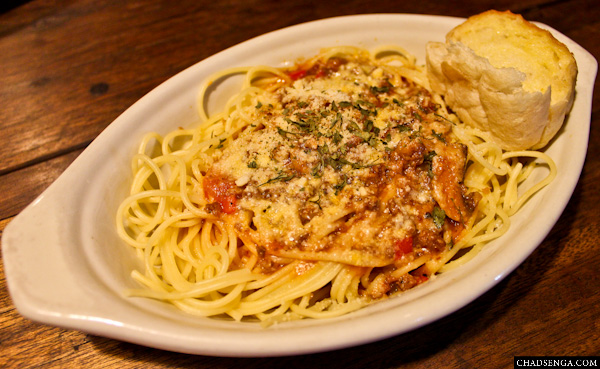 Mama Chit's Marikina, spaghetti