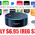EXPIRED!  Amazon Echo Dot Smart Speaker With Alexa Only $6.95 (Reg $39.99) + Free Shipping