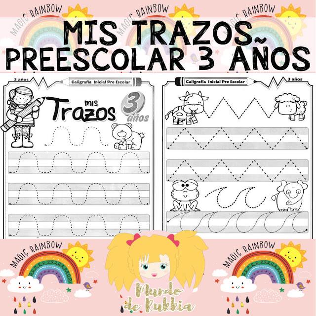 fichas-planas-trazos-preescolar-3-años