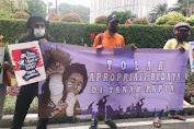 Mahasiswa Papua Geruduk Kantor KONI, Protes Nagita Slavina jadi Ikon PON XX