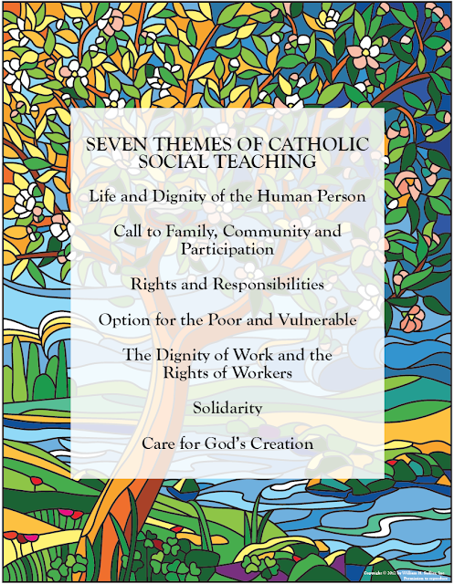 """catholic social teachings in life Catholic social teachings """"catholic social teaching is a central and essential element of our faith it is based on and inseparable from our understanding of human life."""