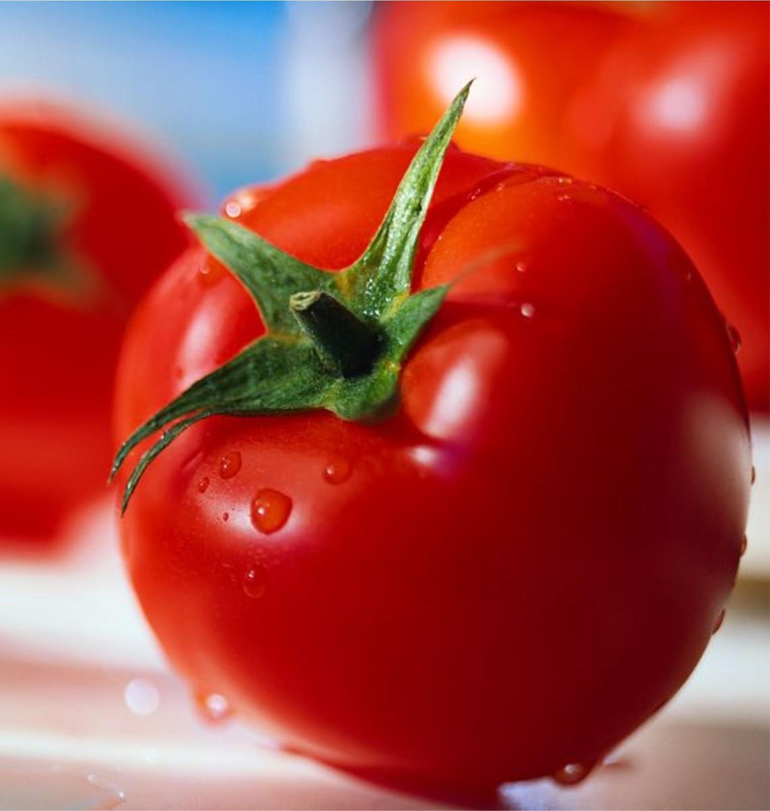 Cara Menghilangkan Jerawat Pada Foto: Cara Mudah Mengatasi Jerawat Dan Komedo Dengan Tomat