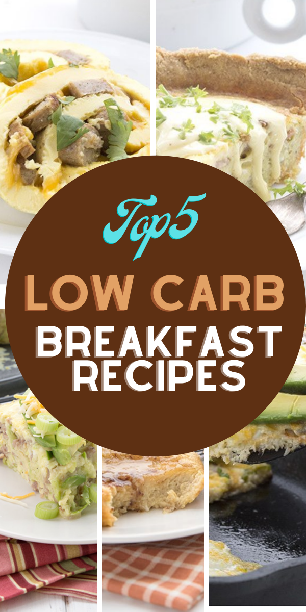 Top 5 easy low carb keto breakfast
