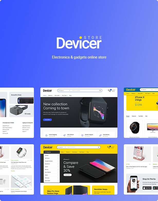 Devicer – Electronics, Mobile & Tech Store