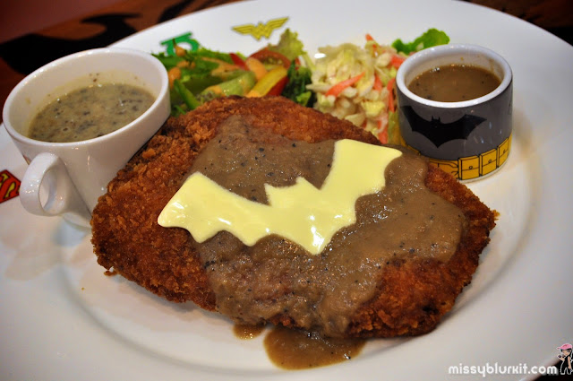 deep fried chicken chop