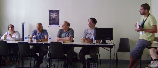Table ronde sur la traduction