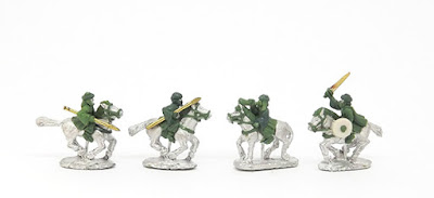 Arab cavalry x 4