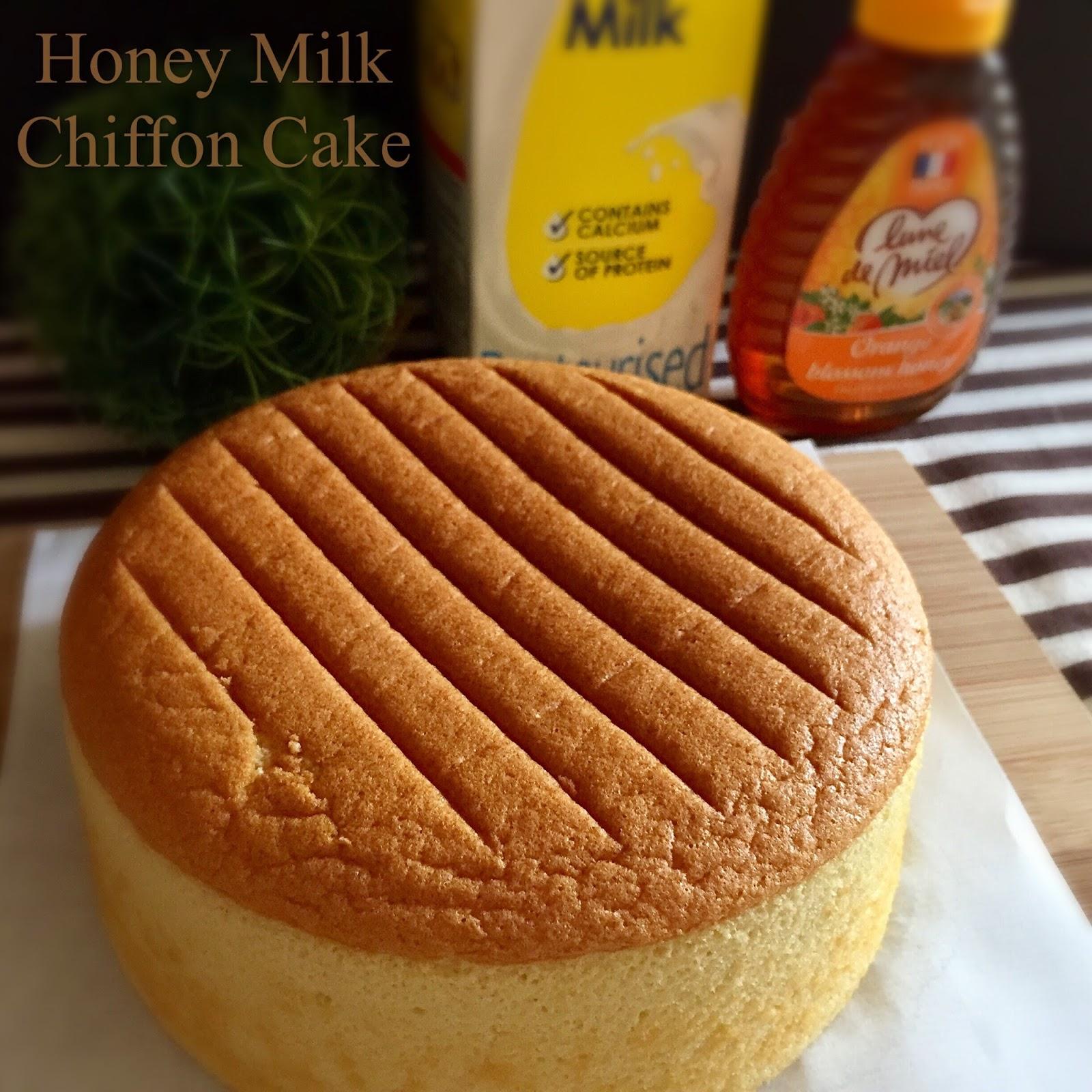 My Mind Patch Honey Milk Chiffon Cake 蜂蜜牛奶威风蛋糕