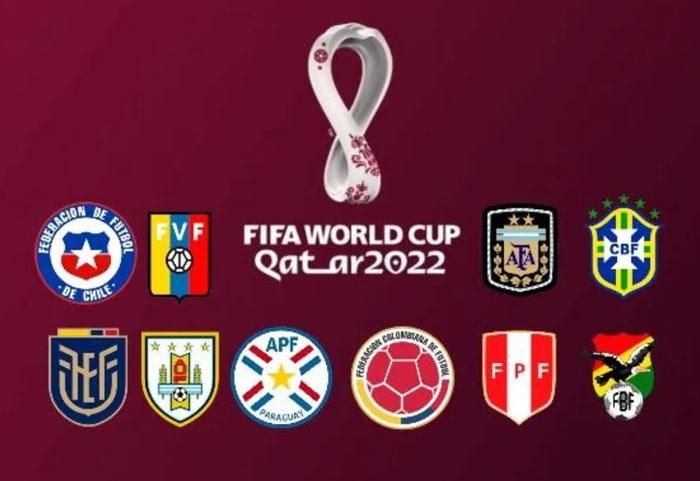 Fixture Eliminatorias Mundial Qatar 2022 - Conmebol