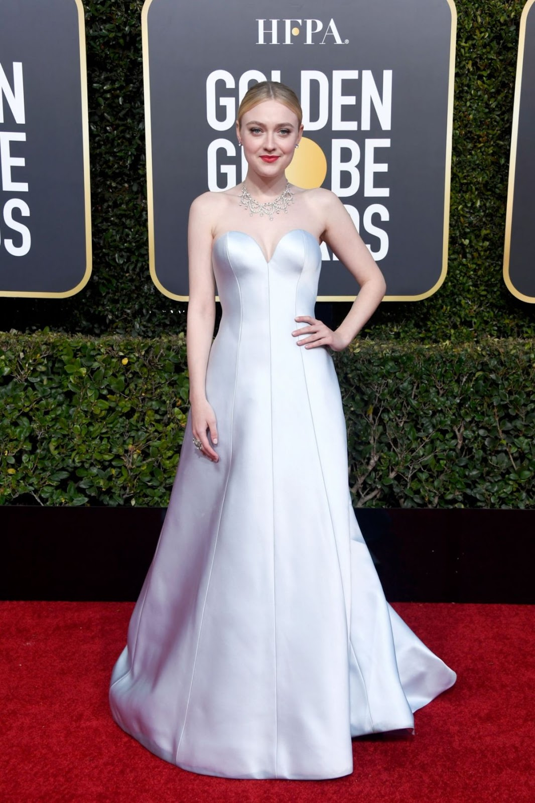 DAKOTA FANNING at 2019 Golden Globe Awards in Beverly Hills