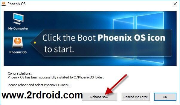 تنزيل نظام فونكس على الكمبيوتر بدون مشاكل Phoenix OS