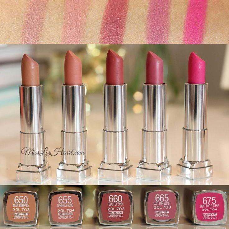 Mauve Color Lipstick Maybelline