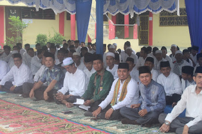 Kasubbag TU Hadiri Khataman Al-Qur'an dan Dzikir Akbar MAN Tanjungbalai