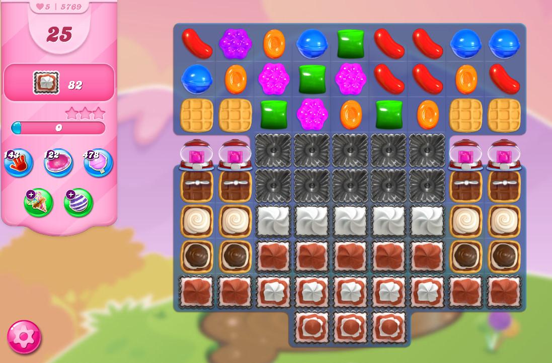 Candy Crush Saga level 5769