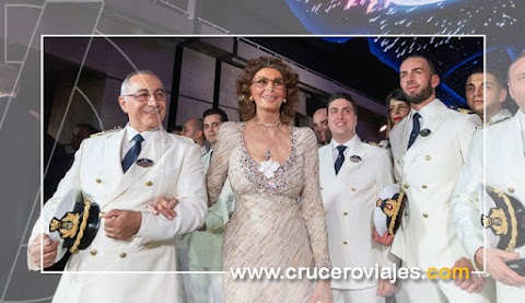 Sophia Loren inaugura oficialmente MSC Bellissima en Southamptom