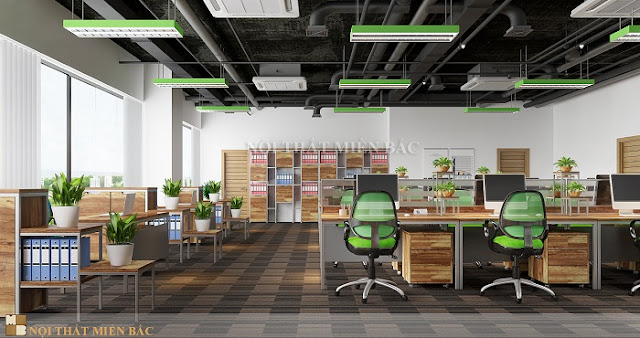 Thiết kế nội thất phòng làm việc được dân văn phòng yêu thích nhất - H1