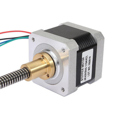 Current and voltage we need to supply to the stepper motors