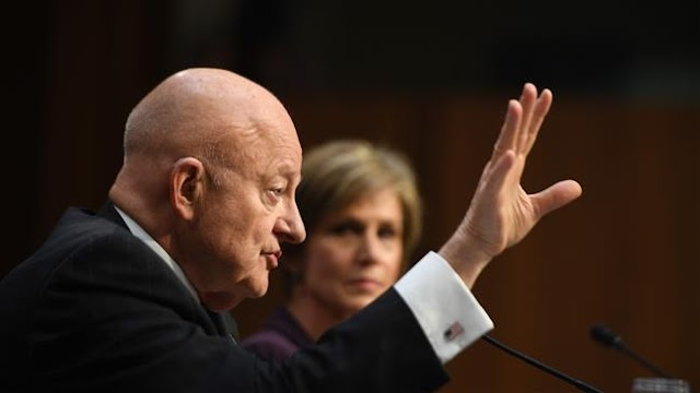 US intelligence community 'under assault' by President Donald Trump after firing of FBI director James Comey: James Clapper