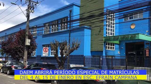Escuela Efraín Campana